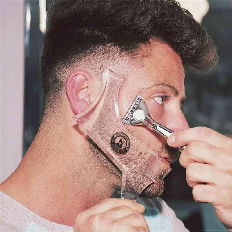 Double Side Beard Shaping Styling Template - Beard Comb