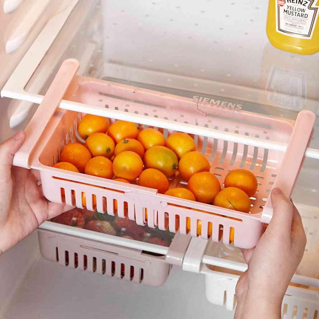 Refrigerator Storage Organizer, Box, Drawer, Shelf For Vegetable, Fruit & Bins 
