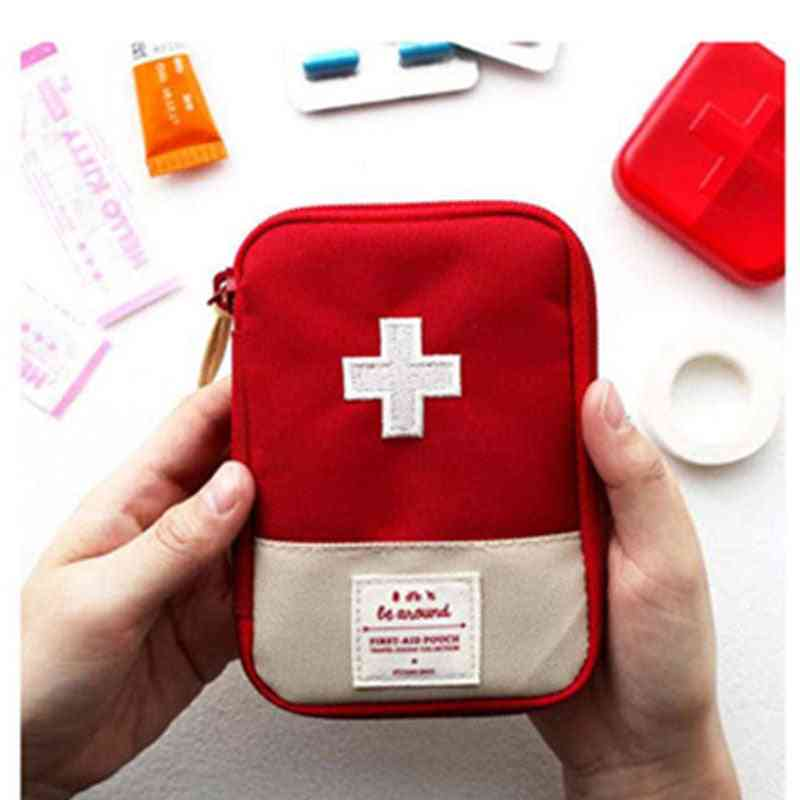 Portable Useful Mini First Aid Medical Kit For Travel Outdoor Camping - Emergency Survival Bag