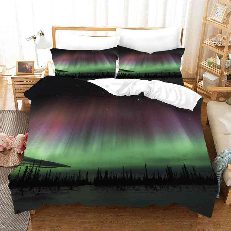 New Style 3d Printed Bedding Sets - Quilt Cover And Pillowcase