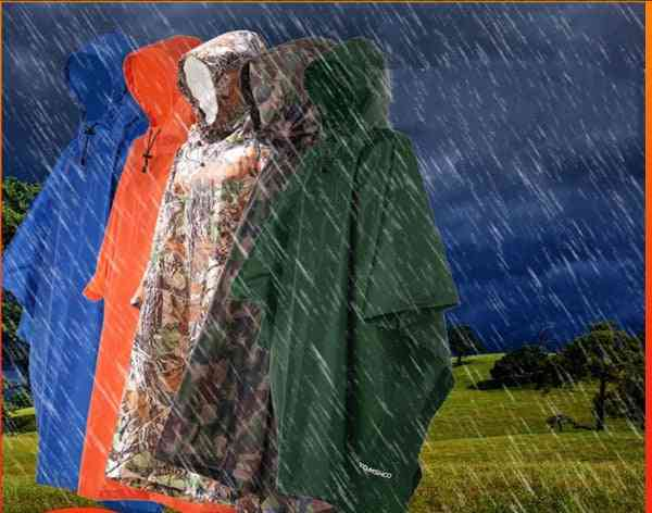 Multi-functional And Lightweight Rain Coat With Hood