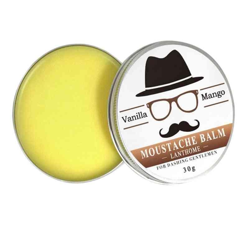 Vanilla And Mango Scented, Organic Moustache Wax-conditioner