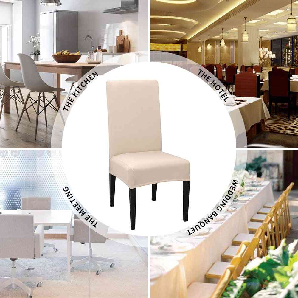Universal Removable, Dining Chair Protection Covers For Wedding Banquet, Hotel