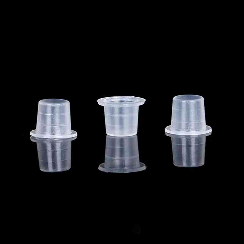 Plastic, Disposable Tattoo Ink Cups