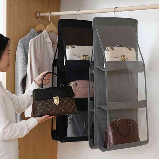 Anti Dust, Foldable Hanging Storage Organizer
