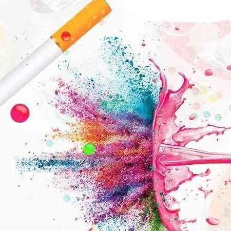 Cigarette Pop Beads Fruit Flavour, Mint Flavor Cigarette Holder Smoking Accessories For Men
