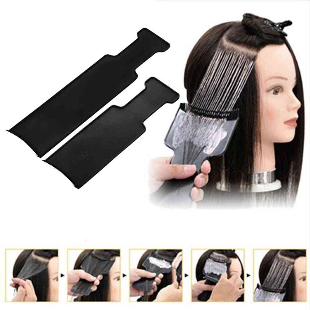 Fashion Professional Hairdressing - Pick Color Board From Dye Plate