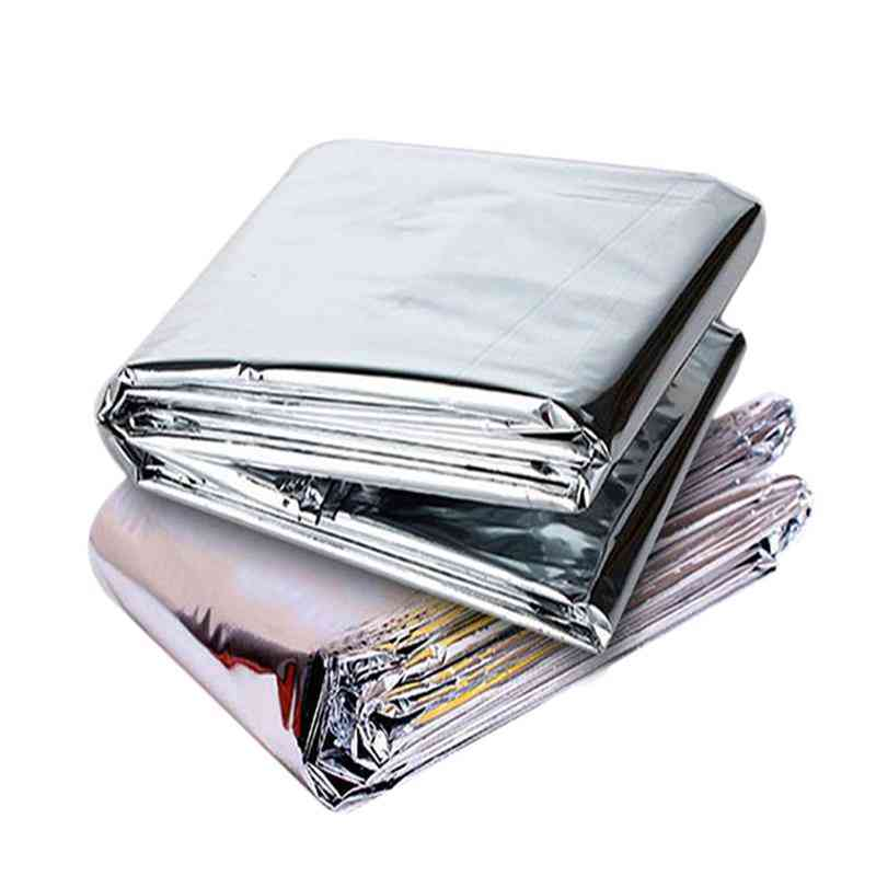 Warm Keeping Foil Slices Reflective Mylar Film - Multiuse Thin Blanket Green House Supplies