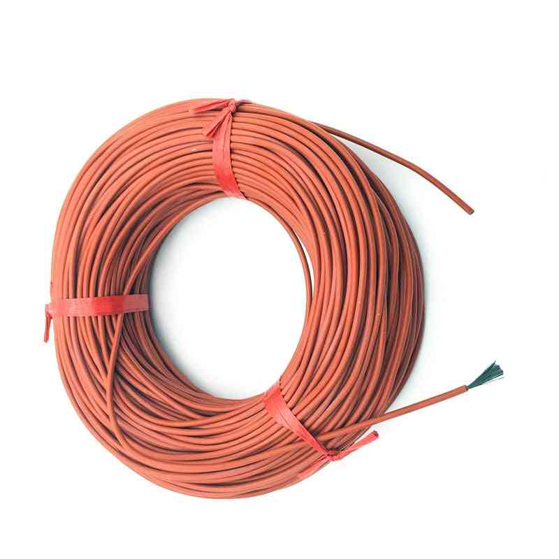 Infrared Heating Floor Heating Ther Cable System - Silica Gel Carbon Fiber Wire