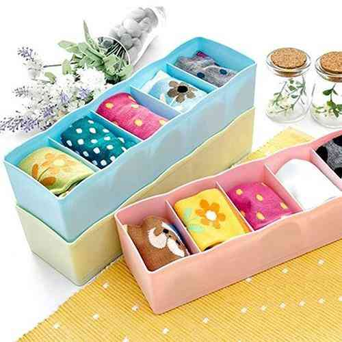 Storage Drawer Organizer Storage Box For Bra, Socks And Underwear