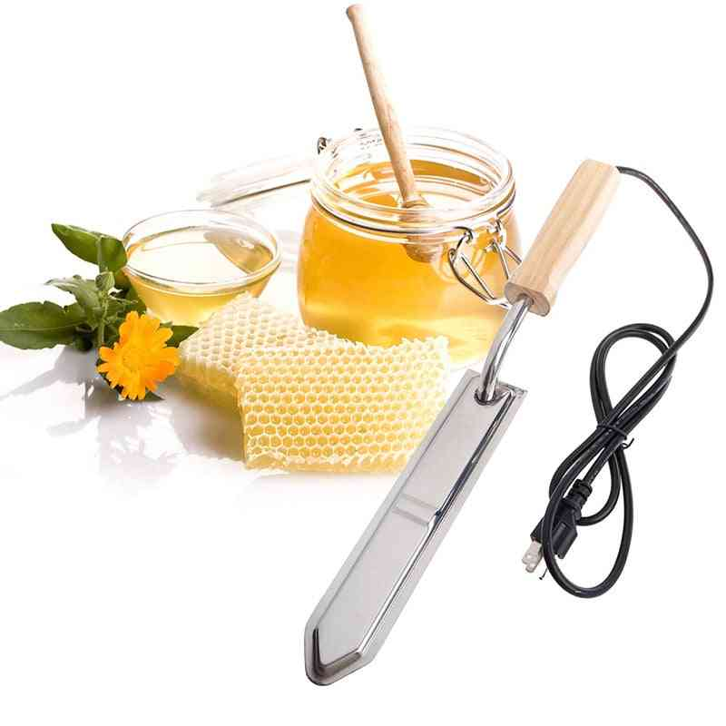 Apicultura Electric Honey Knife Bee Keeping Equipment Heats Up Quickly Cutting Scraper Extractor Tool