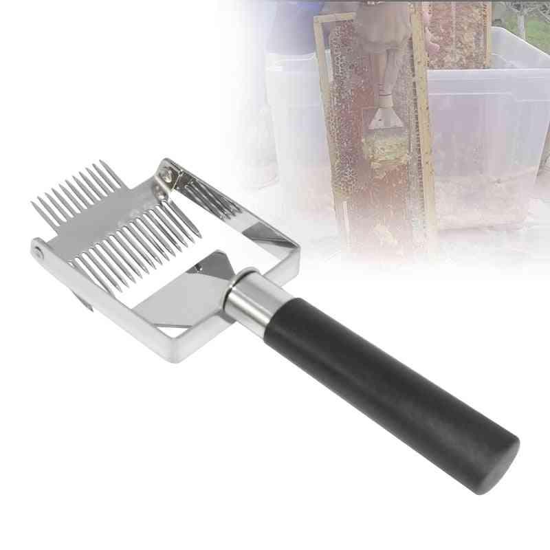 Beehive Honey Cutter Uncapping Scraper Plastic Handle - Knife Fork Shovel