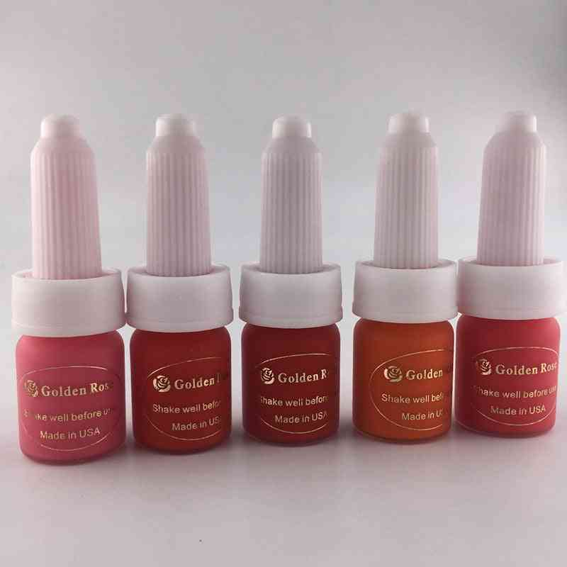 5 Lips Color-permanent Makeup Ink For Lips