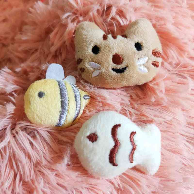New Cat Face Designed Toy - Catnip Cookie Toy Pillow For Kids