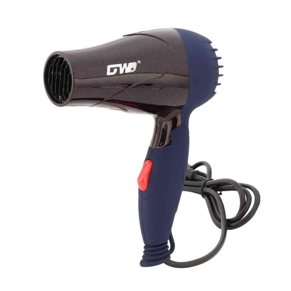 Foldable Handle Hair Dryer - Blow Dryer Wind, Low Noise Hair Blower