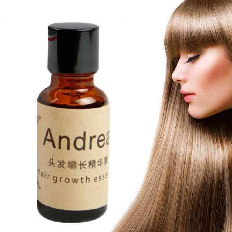 Herbal Keratin Fast Hair Growth Serum, Alopecia Loss Liquid Ginger Oil