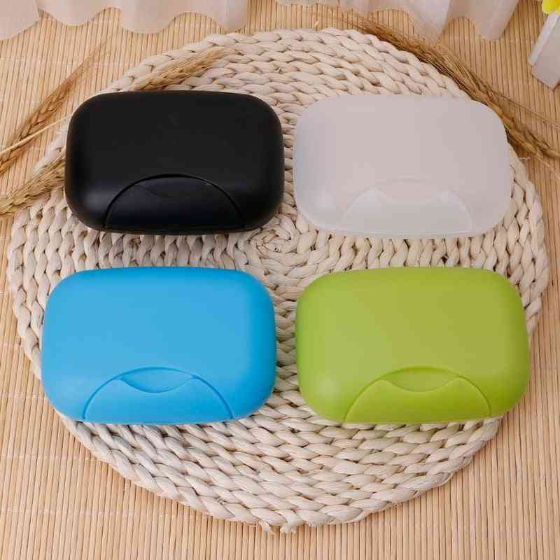 Portable Soap Case - Soap Holder Sealing Box For Travel, Hiking, Camping, Kitchen, Home Bathroom, Shower