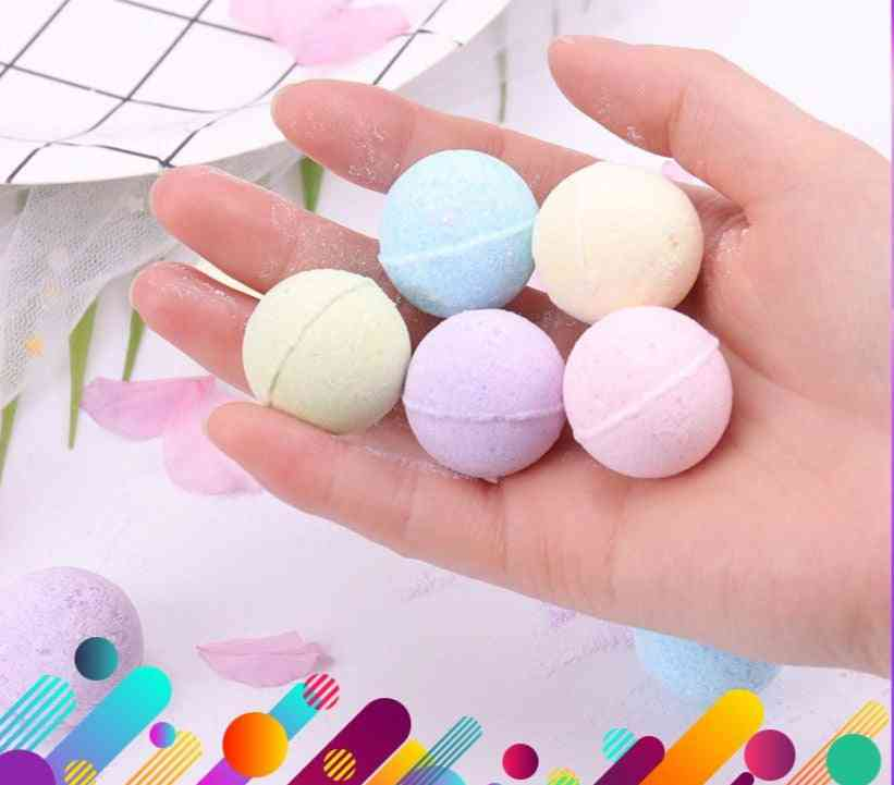 Natural Organic Bath Bombs For Skin Whitening, Relax Stress And Moisturizing