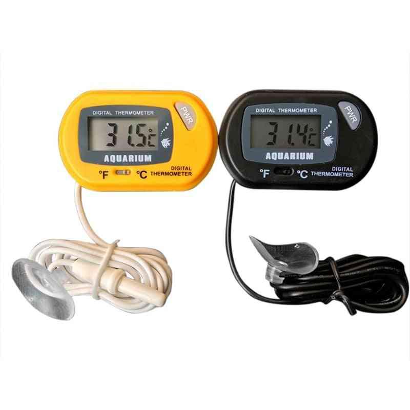 Digital Water Terrarium Temperature Digital Aquarium Thermometer Fish Tank Thermometer Water Terrarium Temperature