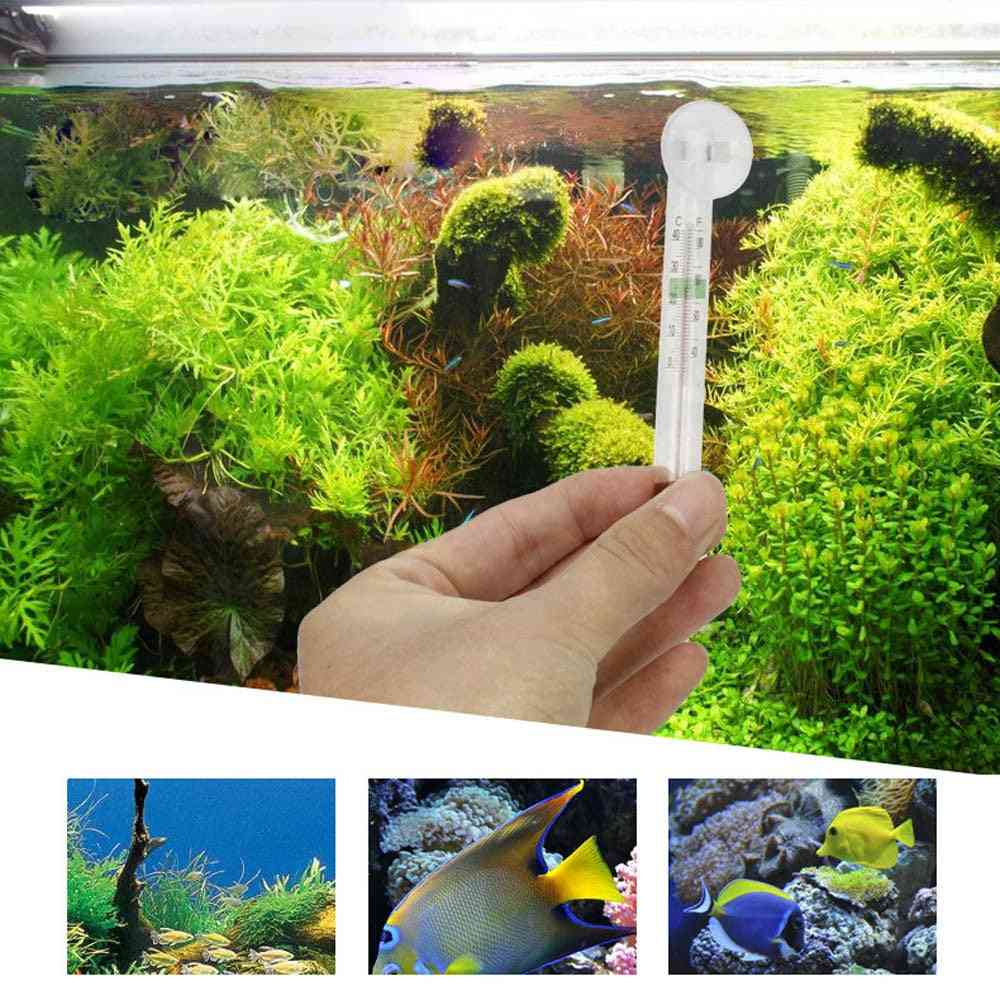 Aquarium Thermometer With Suction Cup