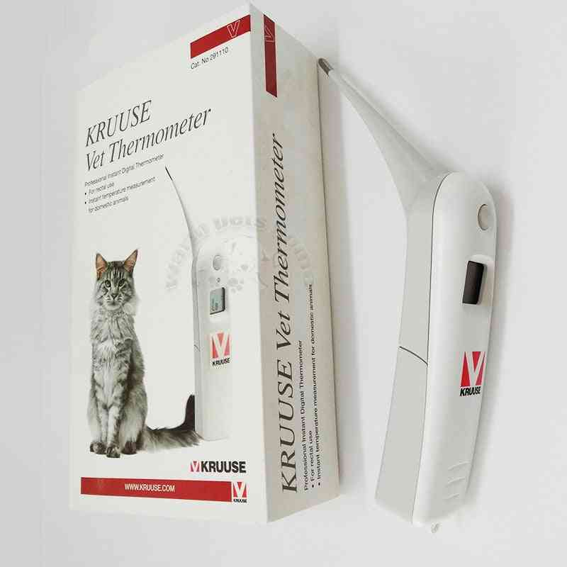 Digital Animal Thermometer Pet, Veterinary Dog Thermo Meter