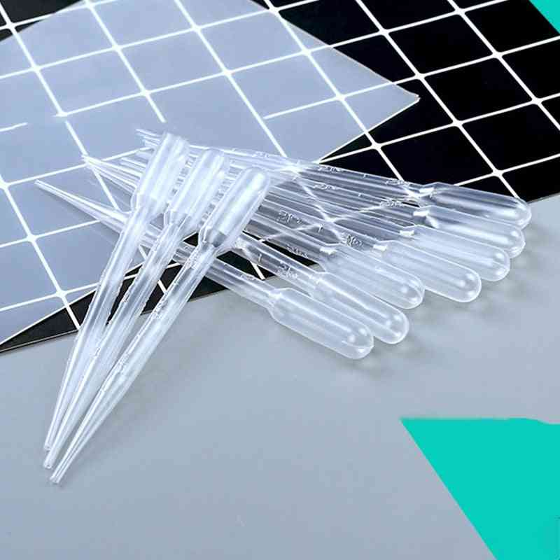 Crystal Epoxy Pipettes-droppers, Tool For Lab Supplies