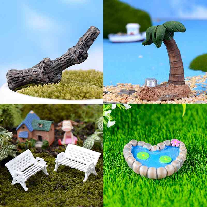 Mini Ecological Landscaping Decoration For Ant Farm And Insects