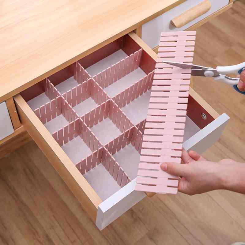 Adjustable Plastic Drawer Divider-space Saving Tools
