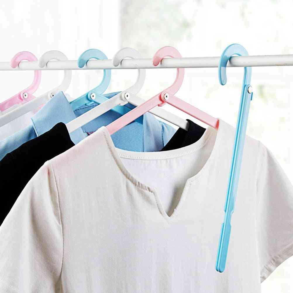 Space Saving, Multi Function, Folding Cloth Hangers