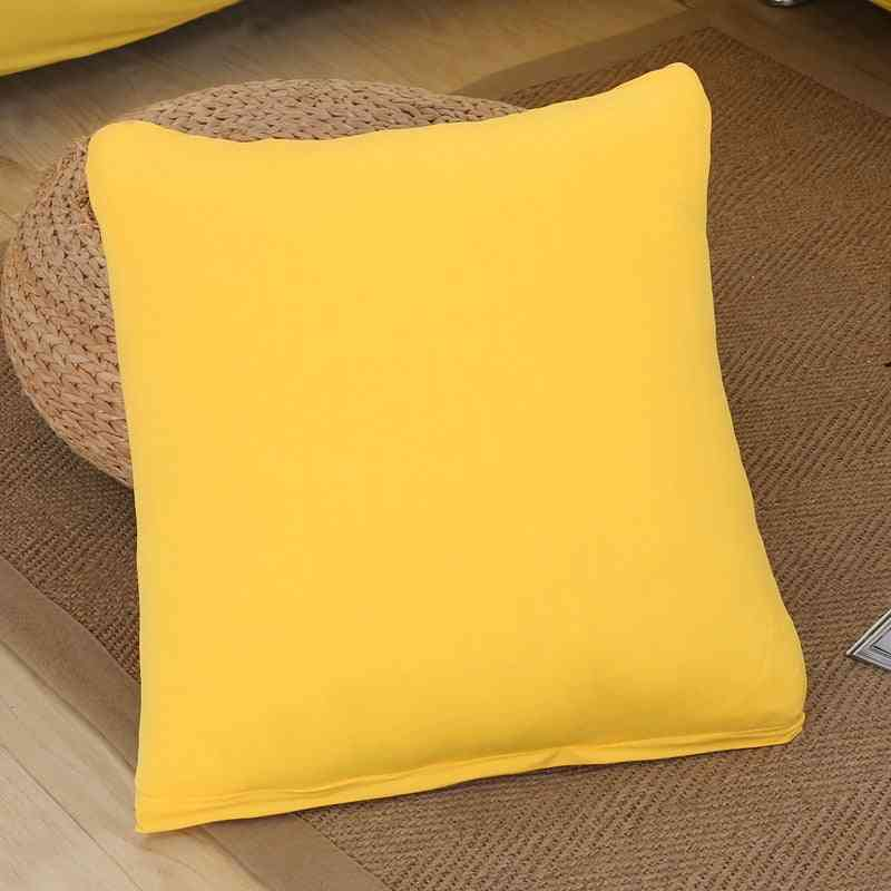 Solid Printing Stretch Elastic Cushio For Sofa, Car, Home