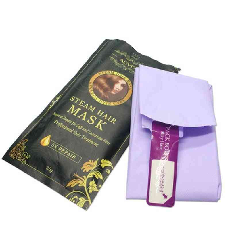 Automatic Heating Steam Hair Mask Moisturizing Nourish, Oil Treatment Hair Practical Hair Care Conditioner