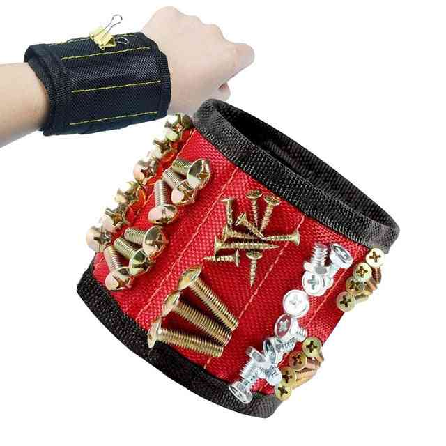 Magnetic Breathable Wristband - Toolkit Belt, Screw Scissor Holder Tool