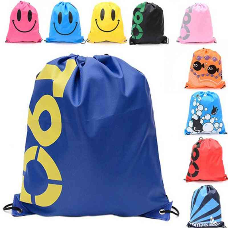 Drawstring Backpack - Outdoor Travel Organizer Housekeeping Storage Bag