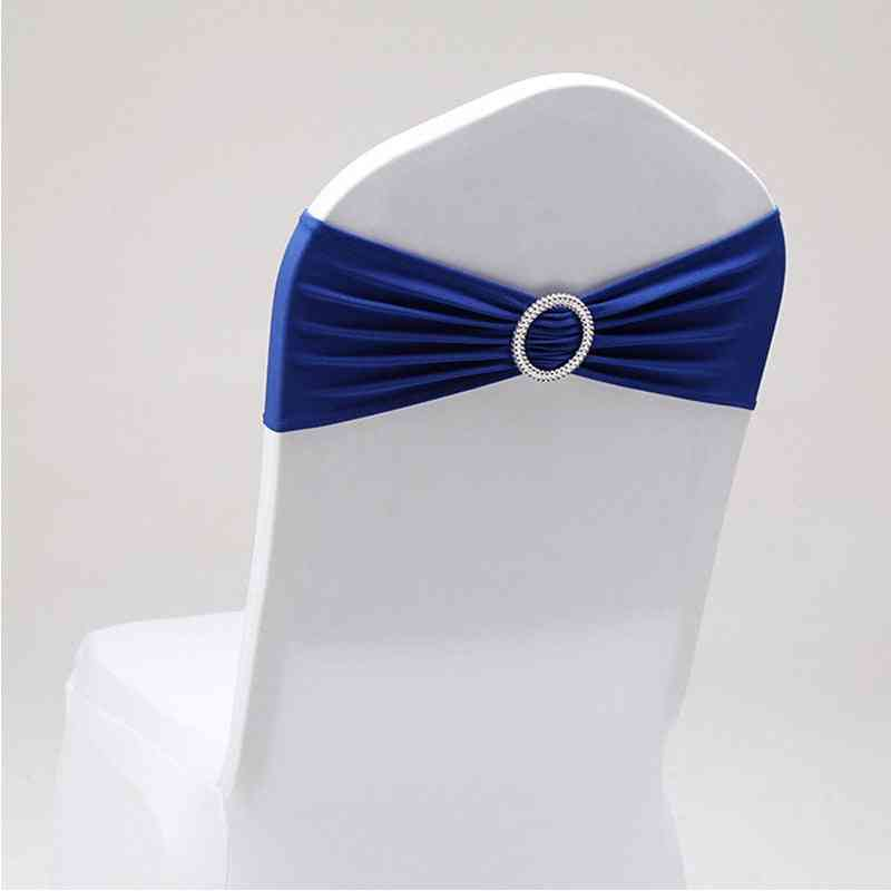 Chair Cover Bands With Buckle Slider For Wedding Decorations