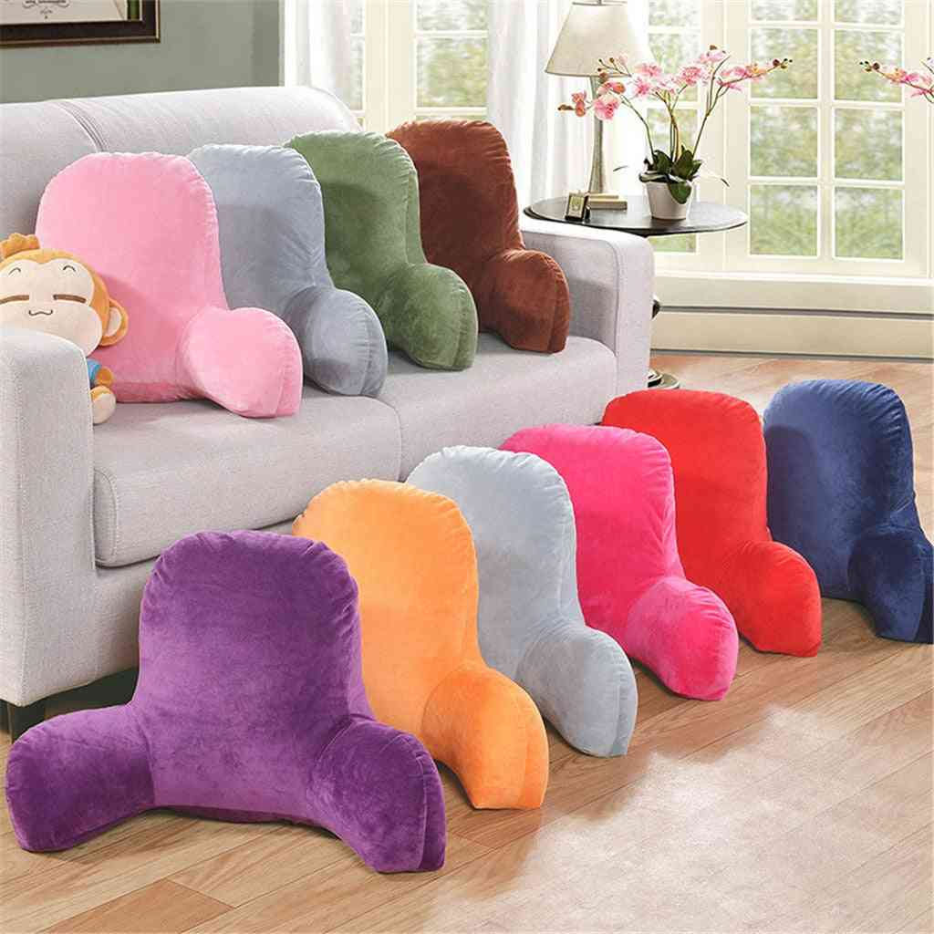 Removable And Washable, Backrest Pillow With Arms Seat