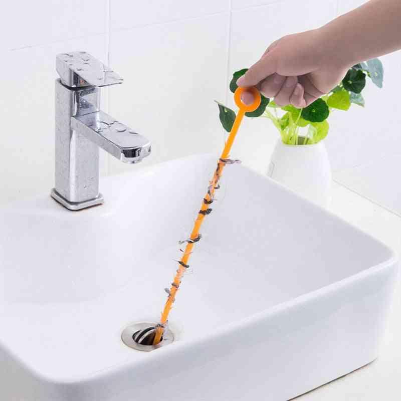 Barbed Design, Drain Cleaning, Snake Dredge For Kitchen Sink, Bathroom