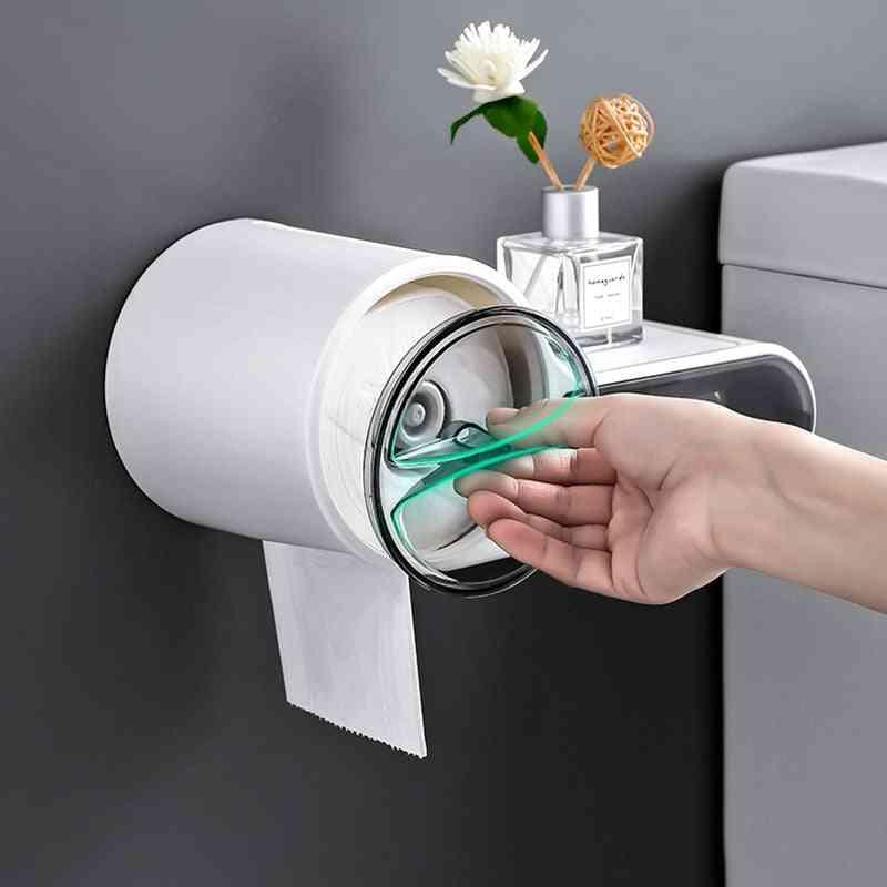 Chic Creative Whistle Design Waterproof Toilet Paper Holder Tissue Dispenser For Bathroom