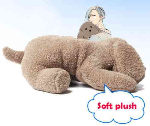 Anime Yuri On Ice Victor Makkachin Poodle Plush Tissue Box