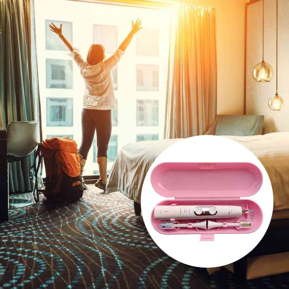 Portable, Electric Toothbrush Holder Case