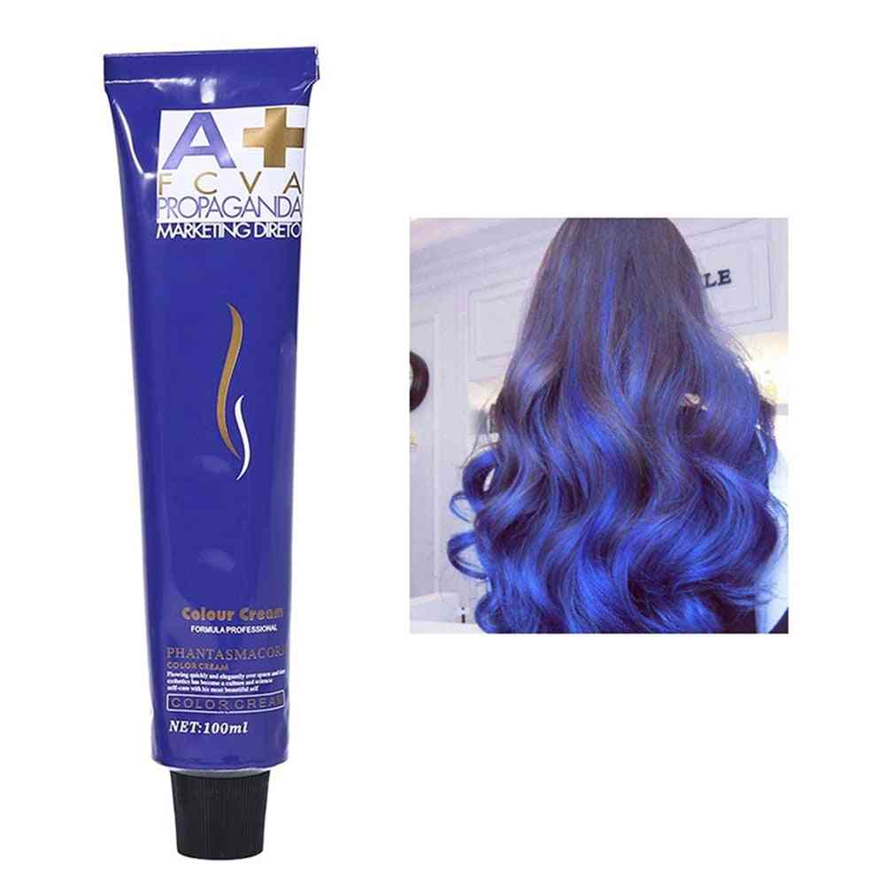 Professional Color Fashion Styling Hair Cooling Dye Cream