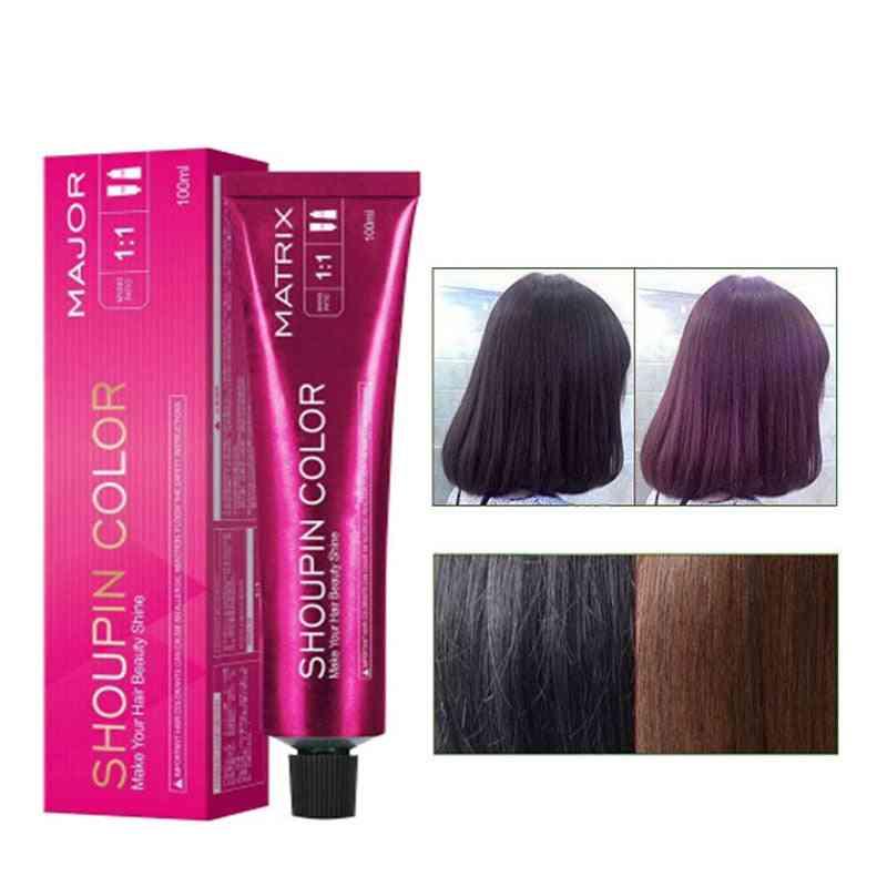 Permanent Hair Dye Wax - Non Toxic Hair Color Cream