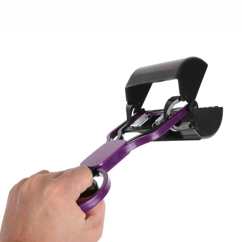 Outdoor Long Pet Pooper Scooper - Jaw Poop Scoop Handle Shovel Cleaning