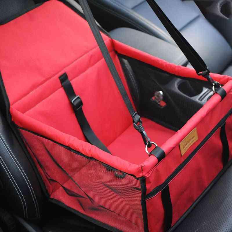 Travel Double Thick Mesh Folding Hanging Pet Car Seat Bag