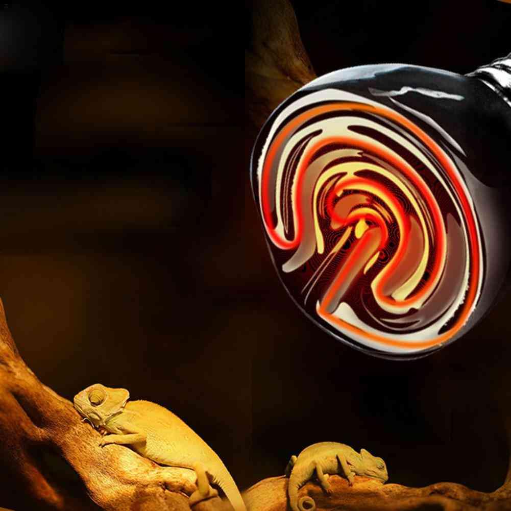 E27 Black Pet Infrared Ceramic Emitter Heat Light Bulb