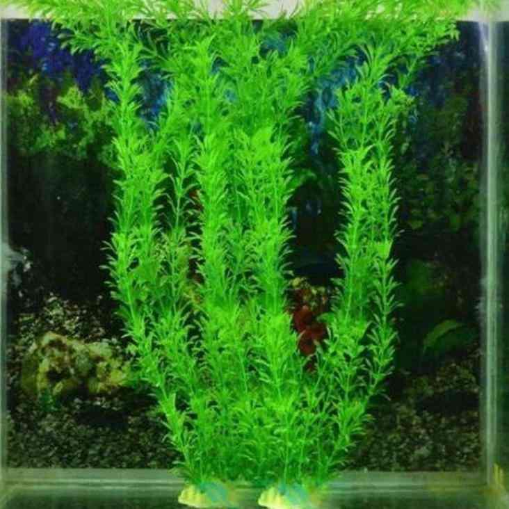 Artificial Eco Friendly Plastic Aquarium Water Plants