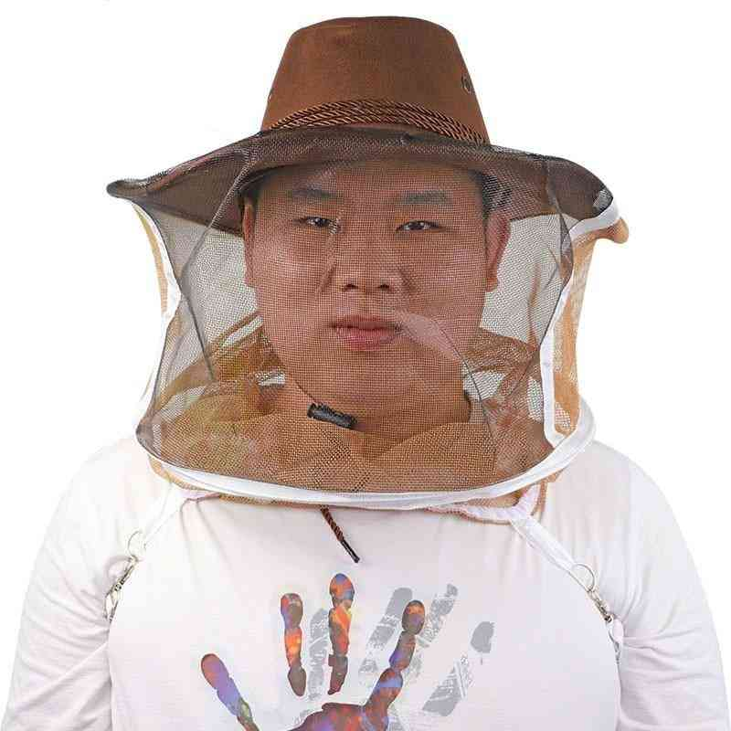 Beekeeping Cowboy Hat - Beekeeping Protector Comfortable Design Anti Bee Hat