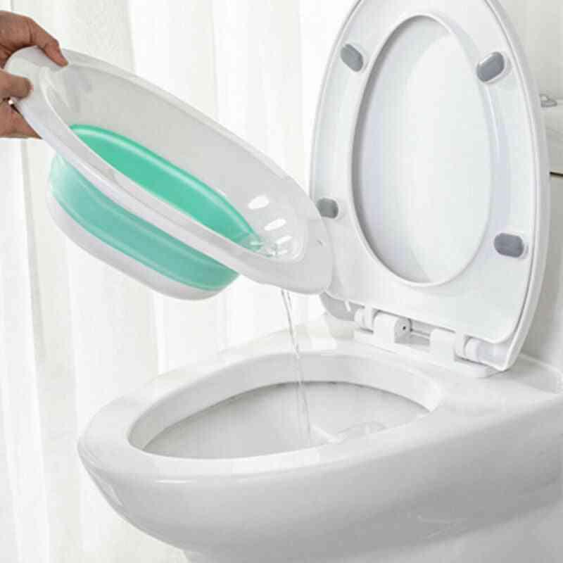 Foldable And Portable Bidget -toilet Wash Basin