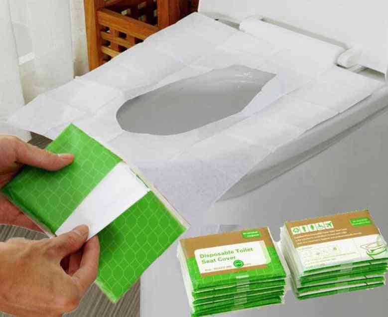 Disposable Toilet Seat Paper Covers For Travel