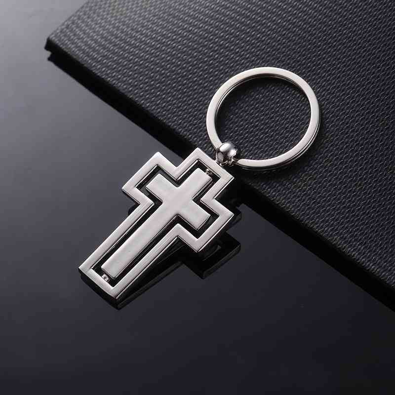 Cross Keychain-christian Catholic Religion