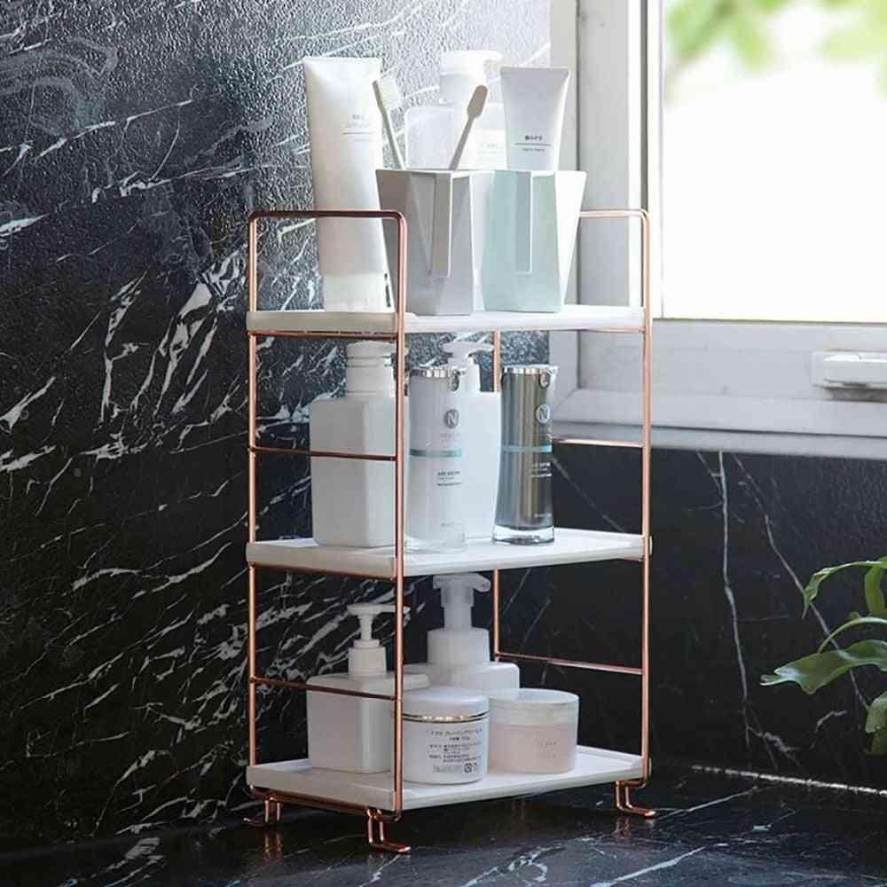 Bathroom Shelf Storage Rack - Display Stand Shelves For Cosmetics, Shampoo - Multi-layer Shower Caddy